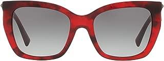 Luxury Fashion   Valentino Womens VA4048502011 Red Sunglasses   Fall Winter 19