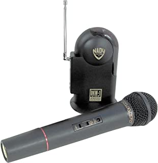 NADY DKW-1H Wireless Microphone System with Hand Held Mic/Transmitter