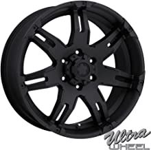 Ultra 238B Gauntlet 20x9 6x139.7 +18mm Matte Black Wheel Rim