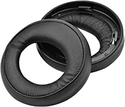 Nero MMOBIEL Cuscinetti auricolari di ricambio per Sony MDR-RF925RK RF970RK RF985R RF985RK Con pelle e proteina memory foam