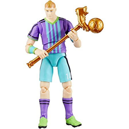"Fortnite Legendary Series, Aerial Threat, 1 Figure Pack - 6"" Articulated Action Figure - Includes Harvesting Tool, 3 Weapons, 1 Back Bling, 3 Interchangeable Heads - Collect Them All"