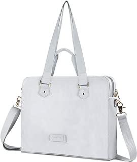 Laptop Bag 14 Inch - for Women PU Waterproof Shoulder Messenger Laptop Case