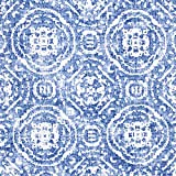 Fabulous Fabrics Dekostoff Canvas Ornamente – blau —
