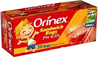 اورينكس اكياس ساندوتش للاطفال , 50 كيس