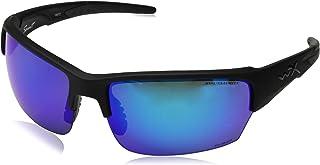 ff4e4f923cb Wiley X Men s Saint Polarized Blue Mirror Matte Sunglasses - Chsai29