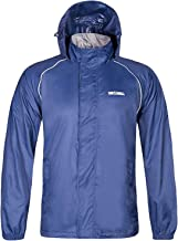 SWISSWELL Men`s Rain Jacket Waterproof Rainwear for Cycling Hiking Travel