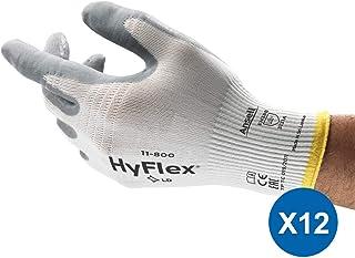 Ansell HyFlex 11-800 Guantes de Trabajo Multiusos, Guante