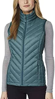 32 DEGREES Heat Womens Packable Vest (XL, Cold Green)