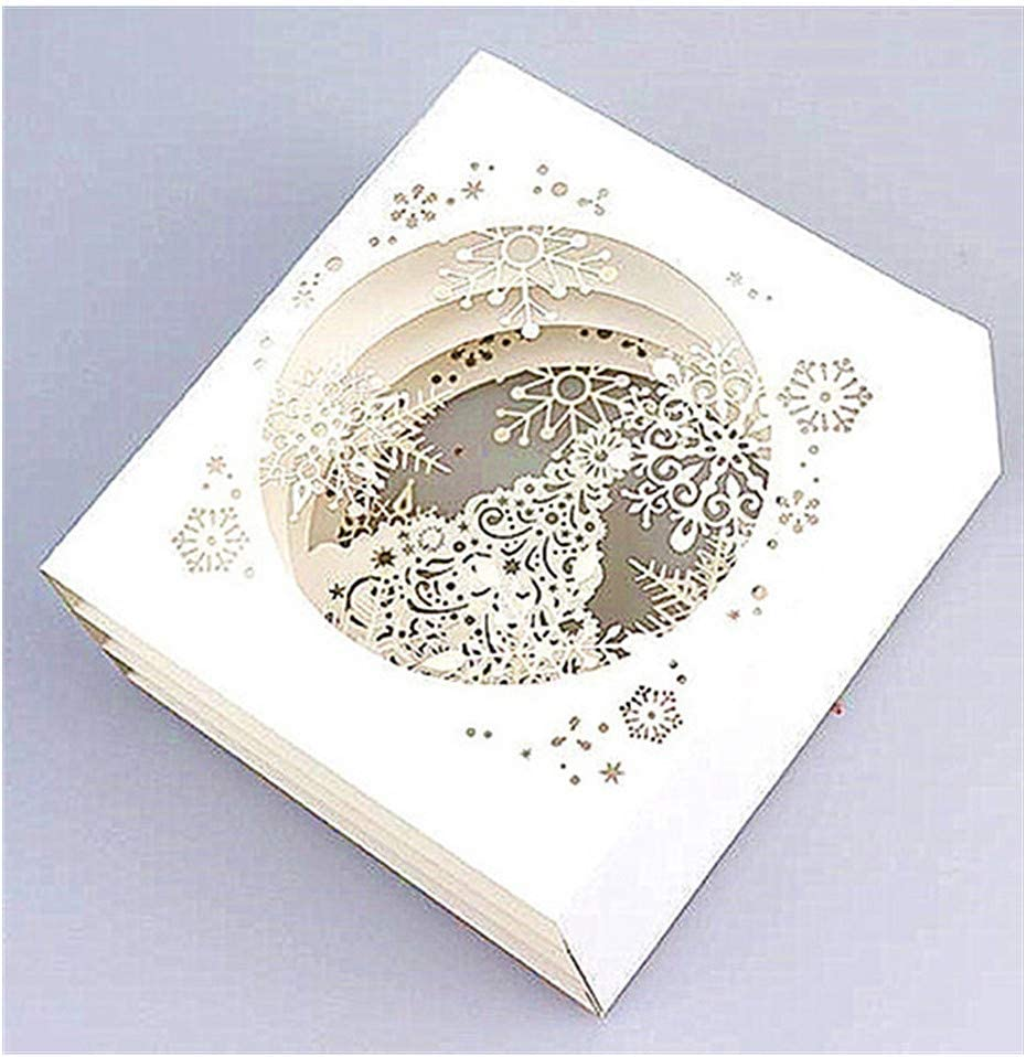 Cutting Beauty products Dies Snowflake Background Layering for die Card cuts Mak 5 popular