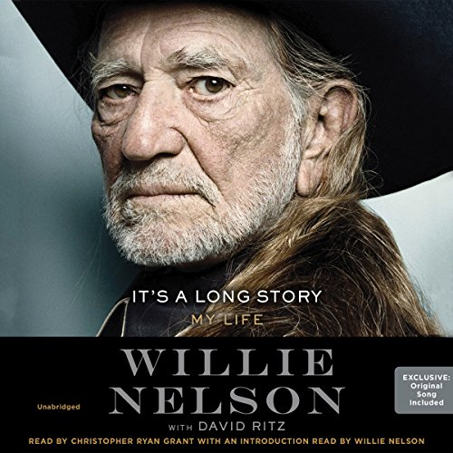 It's a Long Story     My Life              By:                                                                                                                                 Willie Nelson,                                                                                        David Ritz - contributor                               Narrated by:                                                                                                                                 Christopher Ryan Grant                      Length: 9 hrs and 33 mins     1,364 ratings     Overall 4.6
