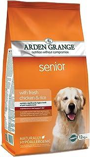 Arden Grange Senior Dry Dog Food with Fresh Chicken and Rice, 12 kg