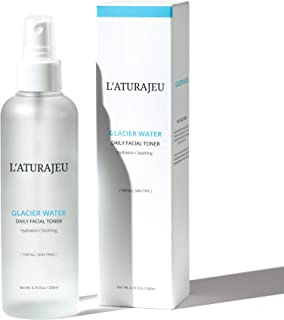 Sponsored Ad - L'ATURAJEU 10 Free Korean Facial Toner Spray with Glacier Water (No Scent), for All Skin Types (6.76 fl.oz)...