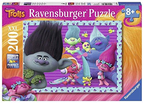 TROLLS - Puzzle XXL de 200 Piezas (Ravensburger 12839)