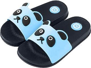 Unisex Niños Availablel Panda Zapatillas de Dibujos Animados Lindos Zapatos Caseros Zapatos de Ducha Sandalias al Aire Lib...