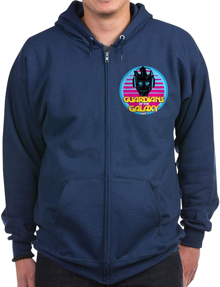 CafePress 80S Groot Zip Hoodie Free Shipping Albuquerque Mall Cheap Bargain Gift Dark
