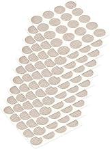 Emuca 4026428 Afdekkingsschroefdeksel Kleefstof Textiel Effect Beige ø 13 mm, Set van 200)