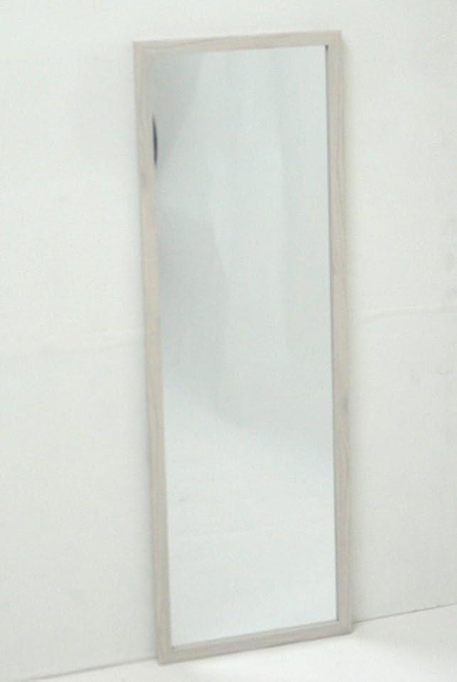 前兆絶望フルーツ野菜武田コーポレーション 【鏡?ミラー?姿見】 ウォールミラー 90 ホワイト WLM-90WH
