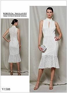 Vogue Patterns V1588A50 Misses Dress, 6-8-10-12-14