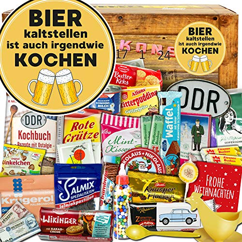 Bier kaltstellen ist auch irgendwie kochen + DDR Adventskalender + Adventskalender DDR Bier