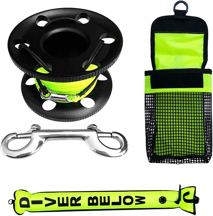 YIJU SMB Surface Marker Buoy Scuba Emerge Popular brand in the world Reel Safety NEW Diving