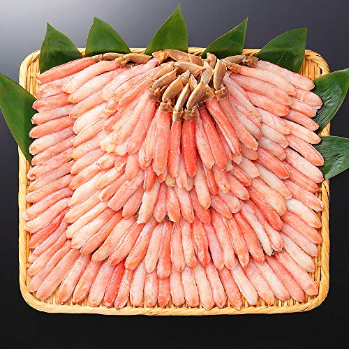 ズワイガニ ポーション 3kg 蟹 しゃぶ 約120本前後 ズワイガニ むき身 北国からの贈り物