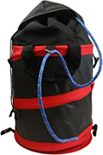 Barnel B902R Heavy Duty Collapsible 6.5 Gal. Rope Bag with Weather Flap