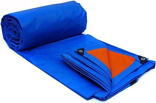 precioso Lona impermeable, Car Wagon Sombra Toldo Carpa Lluvia Plástico Projoección Projoección Projoección UV Anti corrosión Camping Pesca Jardinería y mascotas Lona personalizada ( Color   azul naranja , Talla   32M )  70% de descuento