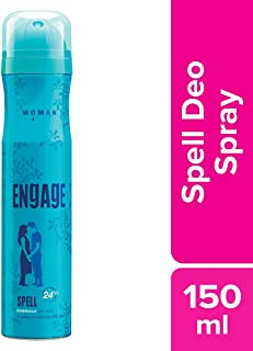 Engage Woman Deodorant Spell, 150ml / 165ml (Weight May Vary)
