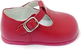 Zapatos Primeros Pasos Ingleses Pepitos 10307 Rojo