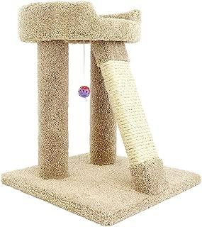 Best concrete tube cat tree Reviews