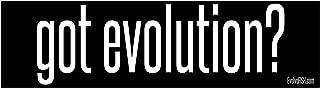 Got Evolution Bumper Sticker 11