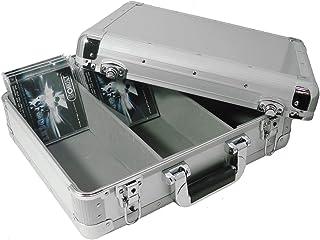 Zomo CD Case MK1 Silver - CD-koffer voor DJ's, zilver/zilver