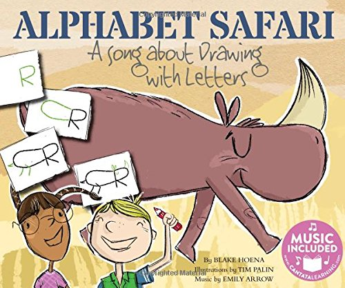 Alphabet Safari: A Song about Drawing with Letters (Sing and Draw!)