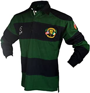Silky Sullivan Collection Men's Long Sleeve Ireland Rugby Jersey