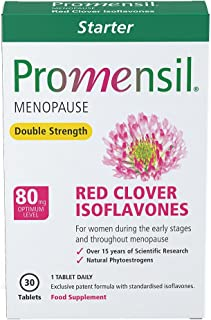 Promensil, Menopause, Red Clover, Isoflavones, Double Strength Starter 80mg - 30 Tablets (1 Month Supply)