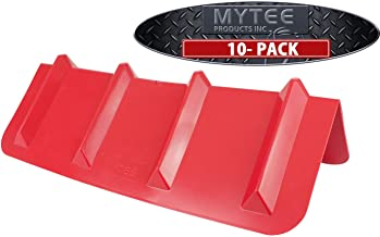 (10 Pack) Red Corner Protector Vee Shaped Edge Guard 8