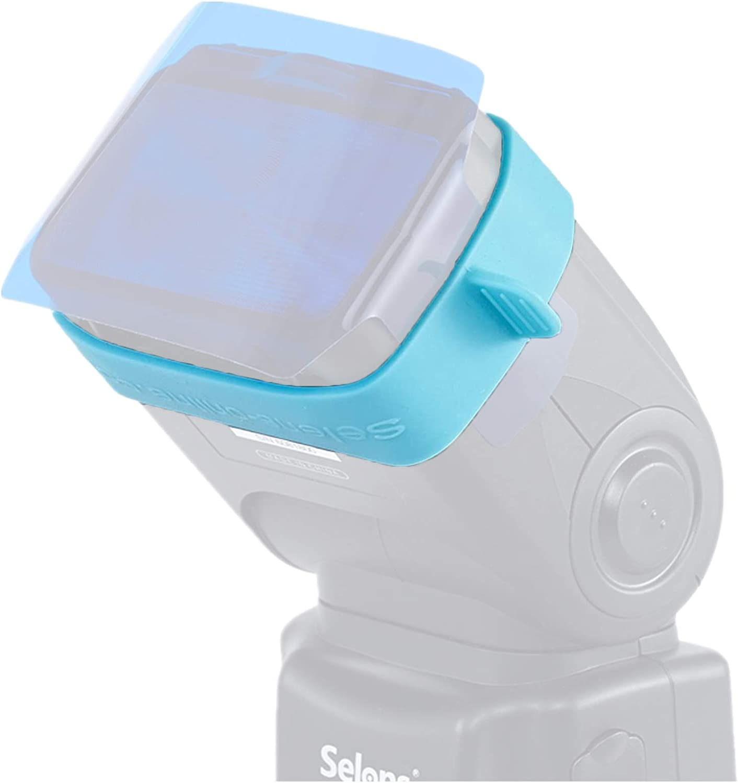 Selens Flash Rubber Gels-Band Belt for All Flash Speedlight Color Gels Filter Photo Studio Accessories 3Pcs in 1Set