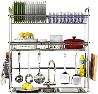 adecuado para: cocina colgador de pared sin clavos en maceta estante de almacenamiento ba/ño balc/ón,15 * 100 vajilla Rack de especias de acero inoxidable 304 toallero