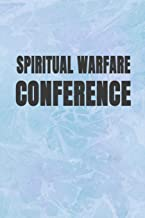 Spiritual Warfare Conference: Blank Lined Journal Notebook, 120 Pages, Soft Matte Cover, 6 x 9
