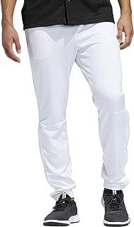 Adidas Men's Snap Pants, White (White), Medium (DU2537)