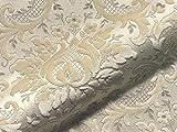 Möbelstoff TOSCA 901 Muster Ornamente beige als robuster
