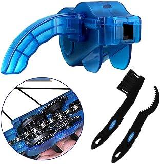 ALISTAR Limpiador de Cadena de Bicicleta, Accesorios de Lavador para Bicicleta, Limpieza múltiples Buje de Aceite y Barro ...