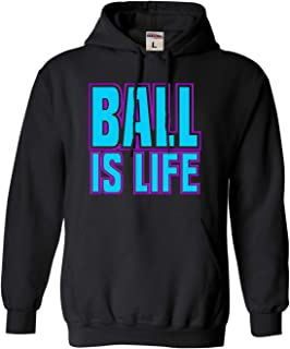 Adult and Youth Ball is Life Sports Sweatshirt Hoodie