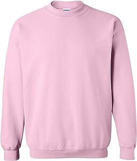 Gildan Heavy Blend Unisex Adult Crewneck Sweatshirt (M) (Light Pink)