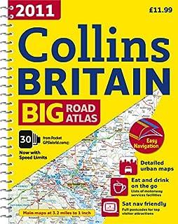 2011 Collins Big Road Atlas Britain