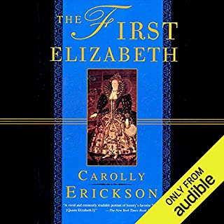 The First Elizabeth audiobook cover art