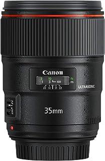 Canon EF 35mm f/1.4L USM II - Objetivo para cámara réflex Canon (Distancia Focal Fija 35mm Apertura f/1.4-22 diámetro Filtro: 72mm) Negro