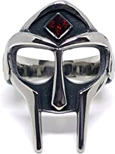 MF Doom Mask Ring Gem