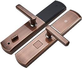 Smart deurvergrendeling Touch Screen Keypad Digital Lock anti-diefstal deurslot Automatic Slide Semiconductor vingerafdruk...