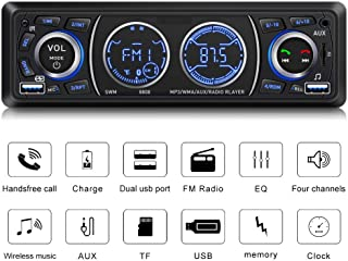 Car Stereo with Bluetooth Single Din Car Stereo Car Radio Car Audio Player Support Phone Fast Charge USB SD Card AUX in wi... photo